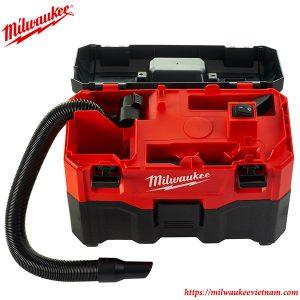 Máy hút bụi khô và ướt dùng pin Milwaukee M18 VC-2-0 solo chính hãng