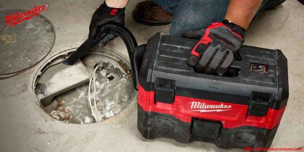 Ứng dụng làm sạch cùng máy hút bụi Milwaukee M18 VC-2
