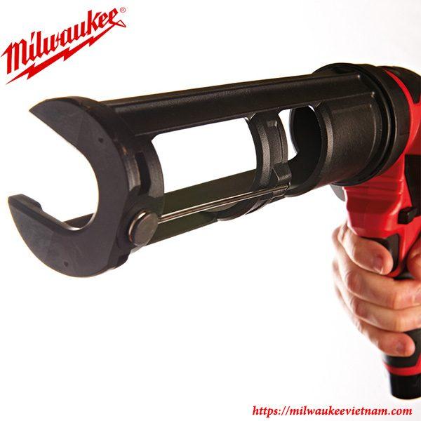 Súng bắn keo Milwaukee M12 M12PCG/310C sở hữu thiết kế tiện dụng