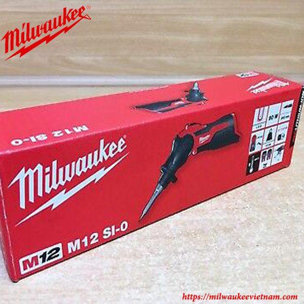 Ảnh thực tế dòng máy hàn nhiệt Milwaukee M12 SI-0 solo