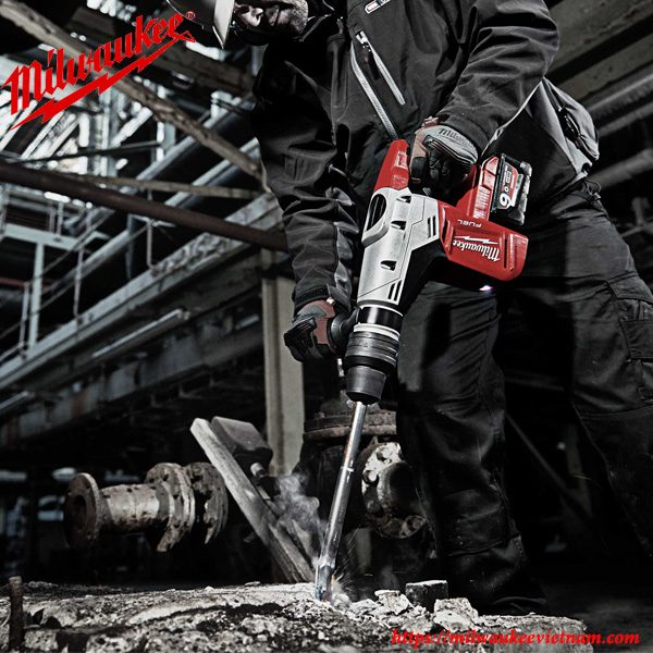 Máy khoan búa Milwaukee M18 CHM-902C tối ưu hóa hiệu suất lao động