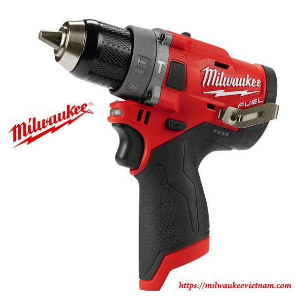 Máy khoan động lực dùng pin Milwaukee M12 FPD-0 Solo tiện dụng