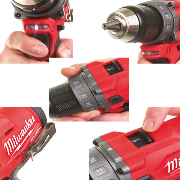 Milwuakee M12 FPD mang tới khả năng kiểm soát thông minh với thiết kế khoa học