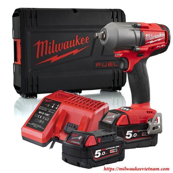 SET máy siết bu lông Milwaukee M18 FMTIW12 502X chuyên nghiệp cho hiệu quả công việc cao