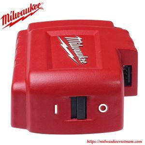 Bộ chuyển đổi nguồn đầu căm USB Milwaukee M18 USB PS HJS chính hãng