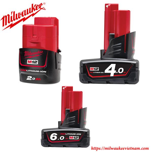 Pin Milwaukee 12 V chính hãng chất lượng cao