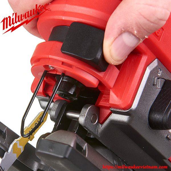 Thiết lập đơn giản với thiết kế thông minh của máy cưa sọc Milwaukee M18 FJS