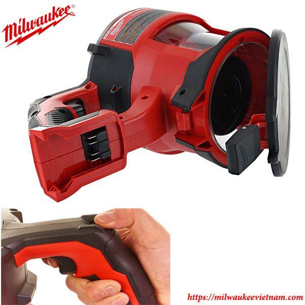 Thiết kế hiện đại của dòng máy hút bụi đa năng dùng pin Milwaukee M18 CV
