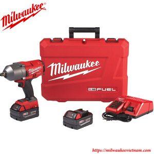 SET máy siết bu lông cao cấp 1/2 Milwaukee M18 FHIWF12 chính hãng