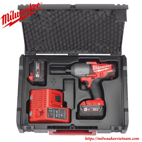 Máy siết bu lông cao cấp 1/2 Milwaukee M18 FHIWF12 cung cấp khả năng hỗ trợ mạnh mẽ trong công việc