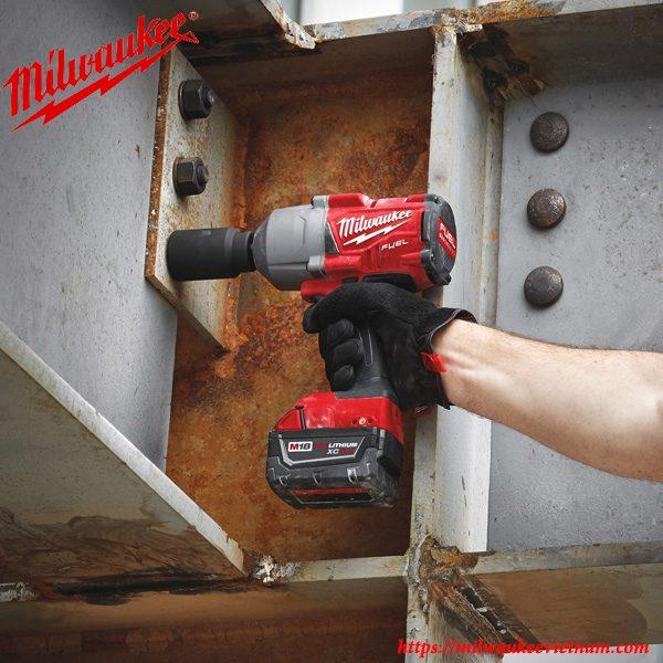 Máy siết bu lông Milwaukee M18 FHIWF12 thúc đẩy tiến độ công việc một cách hiệu quả