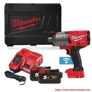 Bộ SET máy siết bu lông dùng pin cao cấp 3/4 Milwaukee M18 ONEFHIWF34