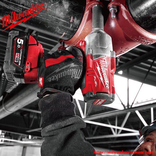Bộ SET máy siết bu lông dùng pin Milwaukee M18 ONEFHIWF34 mạnh mẽ trong hàng loạt các ứng dụng thực tế