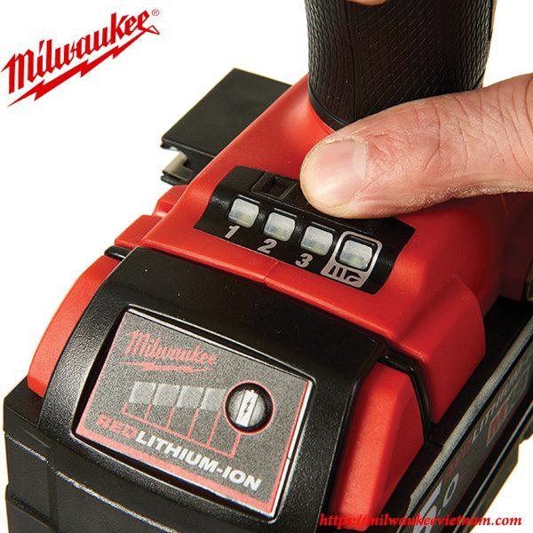 Chế độ làm việc thông minh của dòng máy vặn ốc thủy lực 1/4 Milwaukee M18 FQID cầm tay