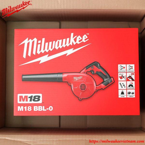 Hình ảnh thực tế dòng máy thổi bụi Milwaukee M18 BBL-0 solo tiện dụng
