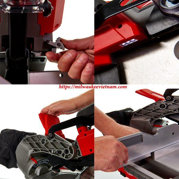 Thiết lập và vận hành máy cắt đa năng Milwaukee M18 FMS254 dễ dàng