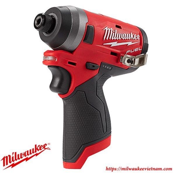 Thiết kế nhỏ gọn của dòng máy vặn ốc vít 1/4 Milwaukee M12 FID