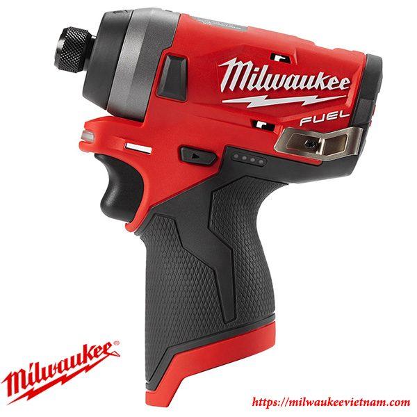 Máy vặn ốc vít 1/4 Milwaukee M12FID chính hãng