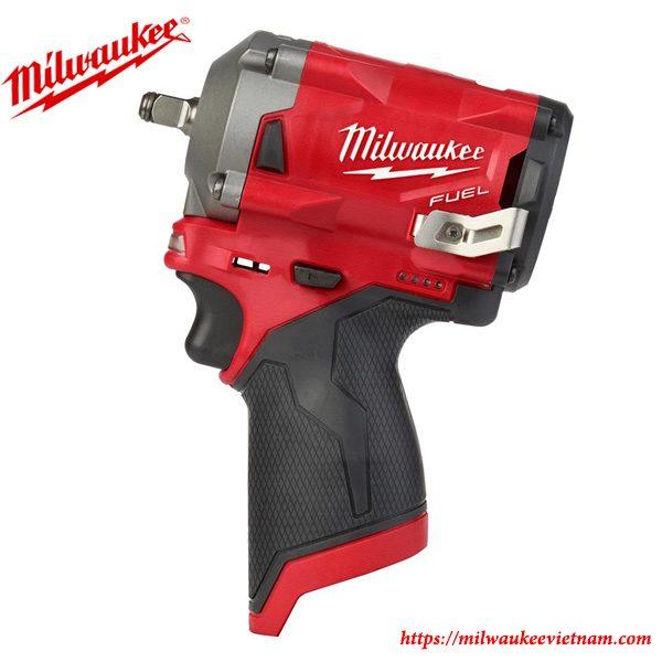 Máy siết bu lông dùng pin Milwaukee M12FIWF12 chính hãng