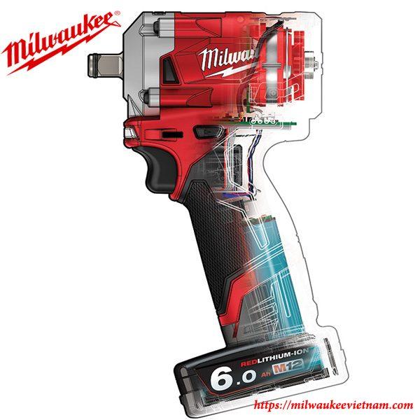 Milwaukee M12FIWF12 dòng máy siết ốc góc 1/2 chất lượng cao