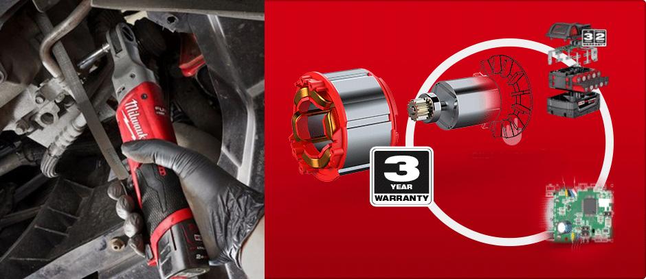 Công nghệ hiện đại cho phép Milwaukee M12 FIR 14 có được sự linh hoạt trong mọi yêu cầu công việc