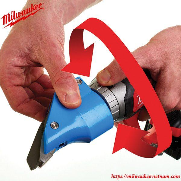 Thiết kế thông minh của dòng máy cắt kim loại Milwaukee M18 BMS20