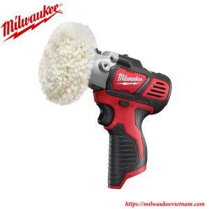 Máy đánh bóng cầm tay dùng pin Milwaukee M12 PBS tiện lợi trong công việc