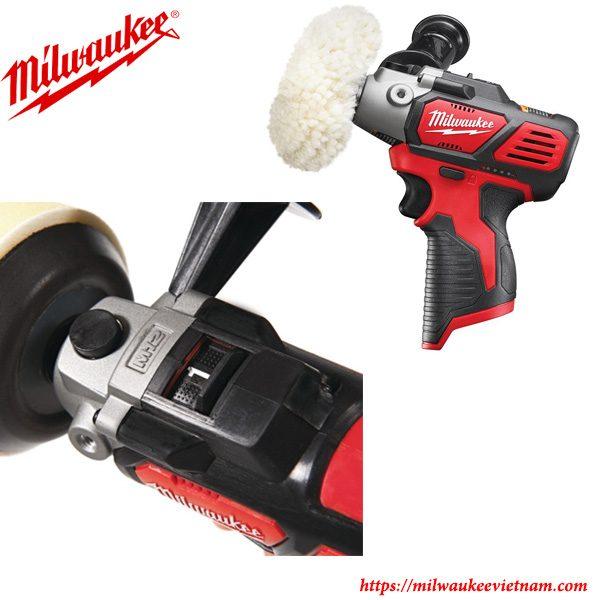 Máy đánh bóng dùng pin Milwaukee M12 PBS nhỏ gọn dễ dàng thao tác