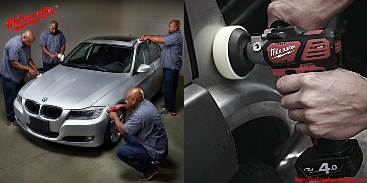 Máy đánh bóng Milwaukee M12 PBS cho tính ứng dụng mạnh mẽ trong ngành sản xuất ô tô