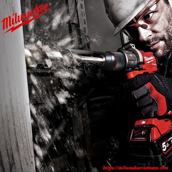Máy khoan động lực dùng pin Milwaukee M18 FPD2 mạnh mẽ trong mọi yêu cầu công việc