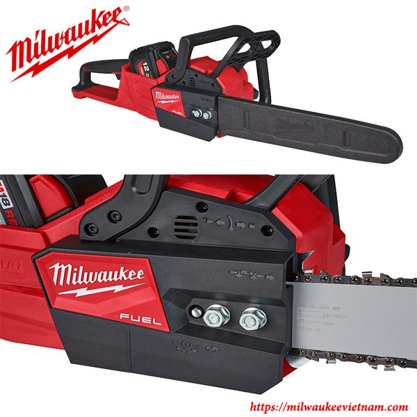 Hình ảnh thực tế dòng máy cưa xích Milwaukee M18 FCHS