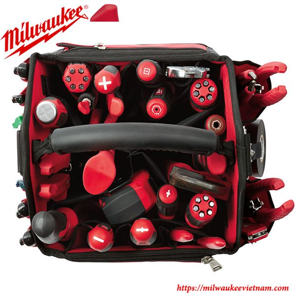 Túi đựng đồ Milwaukee 8310 cho phép chứa đựng nhiều dụng cụ khác nhau