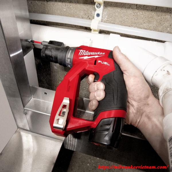 Máy khoan đa năng Milwaukee M12 FDDXKIT cho hiệu quả cao trong hàng loạt các ứng dụng thực tế