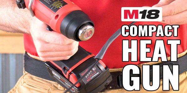 Máy thổi hơi nóng Milwaukee M18 BHG cung cấp khả năng hỗ trợ đa dạng trong công việc